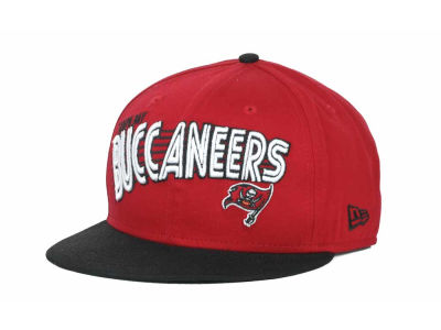 Tampa Bay Buccaneers NFL Swoop 9FIFTY Snapback Hats