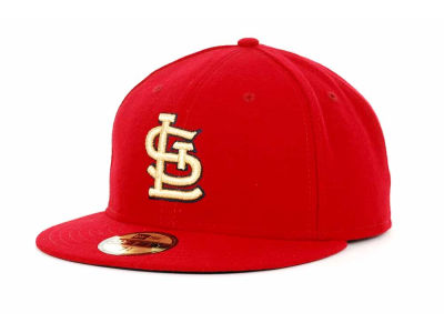 St. Louis Cardinals MLB Gold AC 59FIFTY Hats