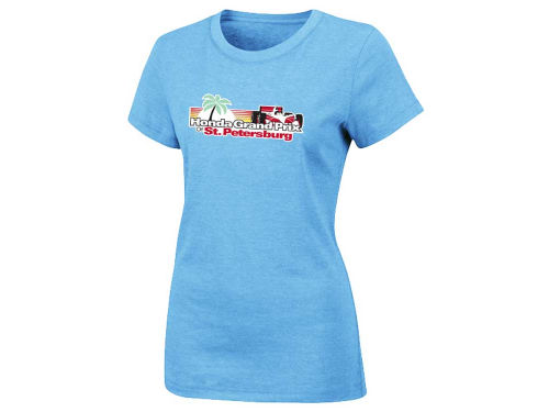 Honda Grand Prix of St. Petersburg Racing Event Logo Womens T-Shirt