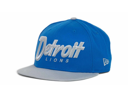 Detroit Lions New Era NFL Snap It Back 9FIFTY Snapback Hats