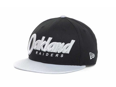 Oakland Raiders NFL Snap It Back 9FIFTY Snapback Hats