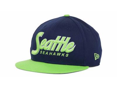 Seattle Seahawks NFL Snap It Back 9FIFTY Snapback Hats