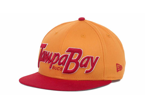 Tampa Bay Buccaneers New Era NFL Snap It Back 9FIFTY Snapback Hats
