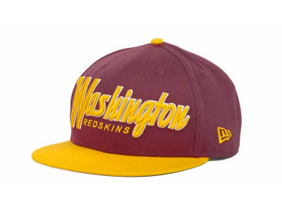Washington Redskins NFL Snap It Back 9FIFTY Snapback Hats