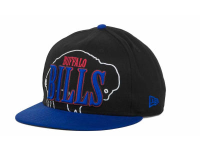 Buffalo Bills NFL Logo Through 9FIFTY Snapback Hats