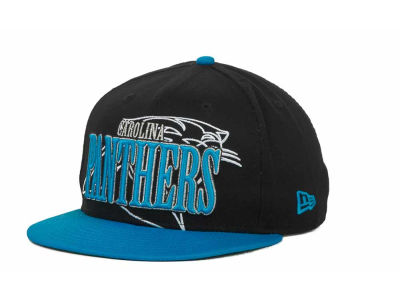 Carolina Panthers NFL Logo Through 9FIFTY Snapback Hats