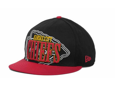 Kansas City Chiefs NFL Logo Through 9FIFTY Snapback Hats