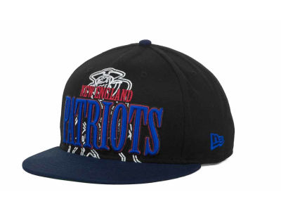 New England Patriots NFL Logo Through 9FIFTY Snapback Hats