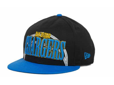 San Diego Chargers NFL Logo Through 9FIFTY Snapback Hats