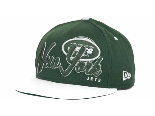 New York Jets New Era NFL Logo Class 9FIFTY Snapback Hats