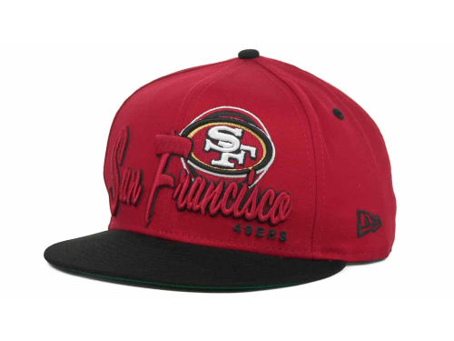 San Francisco 49ers New Era NFL Logo Class 9FIFTY Snapback Hats