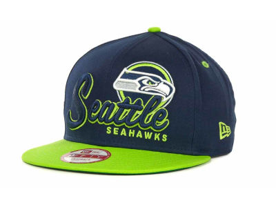 Seattle Seahawks NFL Logo Class 9FIFTY Snapback Hats