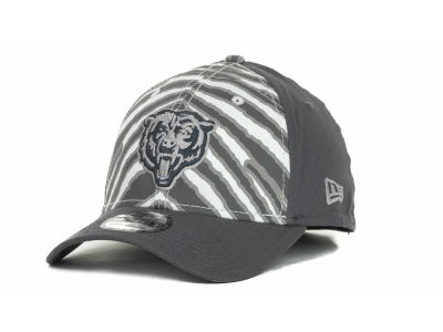 Chicago Bears NFL Zebra 39THIRTY Cap Hats
