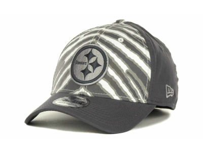 Pittsburgh Steelers NFL Zebra 39THIRTY Cap Hats