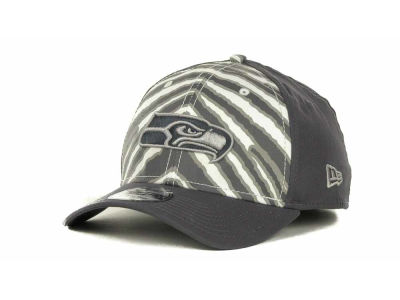 Seattle Seahawks NFL Zebra 39THIRTY Cap Hats