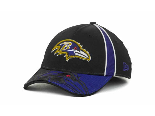 Baltimore Ravens New Era NFL A Gap 39THIRTY Hats