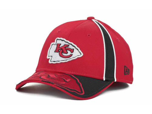 Kansas City Chiefs New Era NFL A Gap 39THIRTY Hats