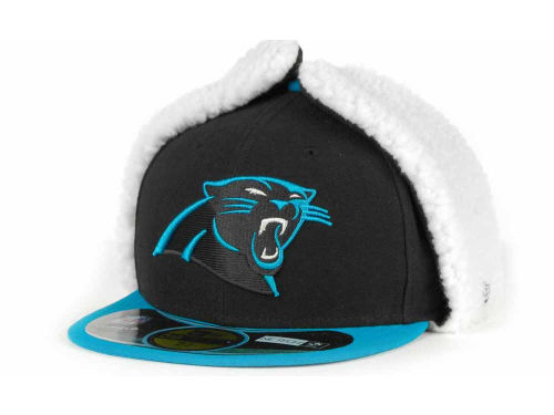 Carolina Panthers New Era NFL On Field Dog Ear 59FIFTY Cap Hats