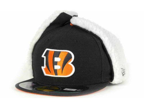 Cincinnati Bengals New Era NFL On Field Dog Ear 59FIFTY Cap Hats