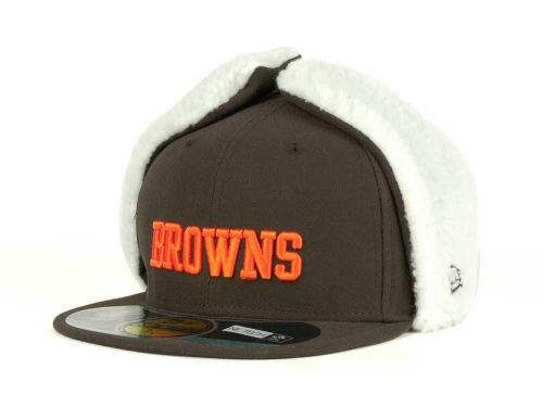 Cleveland Browns New Era NFL On Field Dog Ear 59FIFTY Cap Hats
