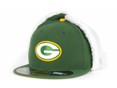 Green Bay Packers NFL On Field Dog Ear 59FIFTY Cap Hats