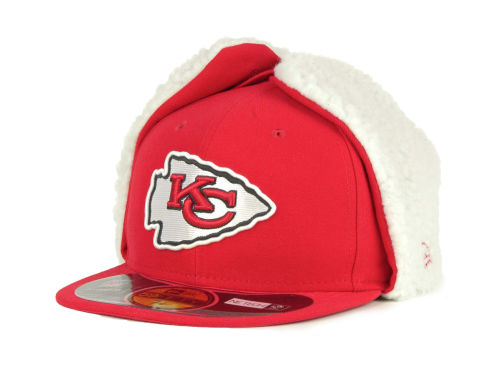 Kansas City Chiefs New Era NFL On Field Dog Ear 59FIFTY Cap Hats