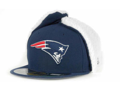 New England Patriots NFL On Field Dog Ear 59FIFTY Cap Hats