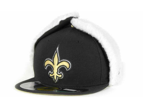 New Orleans Saints New Era NFL On Field Dog Ear 59FIFTY Cap Hats