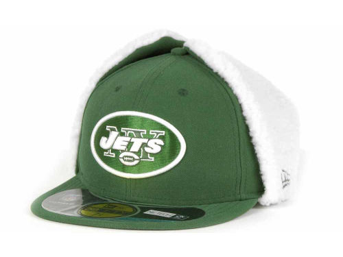 New York Jets New Era NFL On Field Dog Ear 59FIFTY Cap Hats