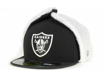 Oakland Raiders NFL On Field Dog Ear 59FIFTY Cap Hats