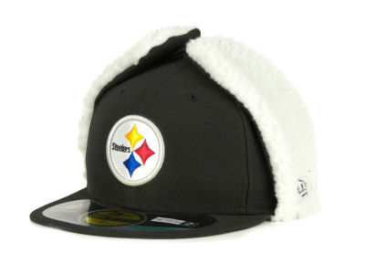 Pittsburgh Steelers NFL On Field Dog Ear 59FIFTY Cap Hats