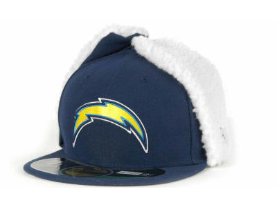 San Diego Chargers NFL On Field Dog Ear 59FIFTY Cap Hats
