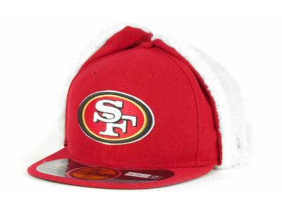 San Francisco 49ers NFL On Field Dog Ear 59FIFTY Cap Hats