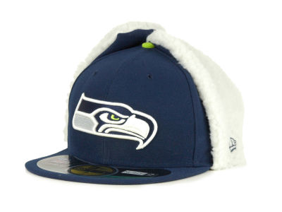 Seattle Seahawks NFL On Field Dog Ear 59FIFTY Cap Hats