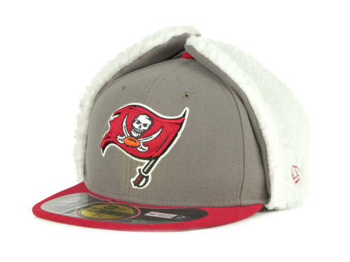 Tampa Bay Buccaneers New Era NFL On Field Dog Ear 59FIFTY Cap Hats