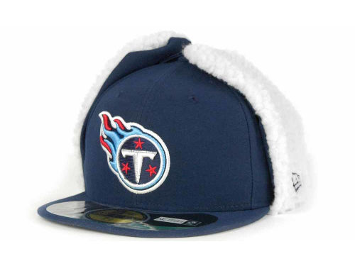 Tennessee Titans New Era NFL On Field Dog Ear 59FIFTY Cap Hats