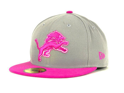 Detroit Lions NFL BCA On Field 59FIFTY Cap Hats