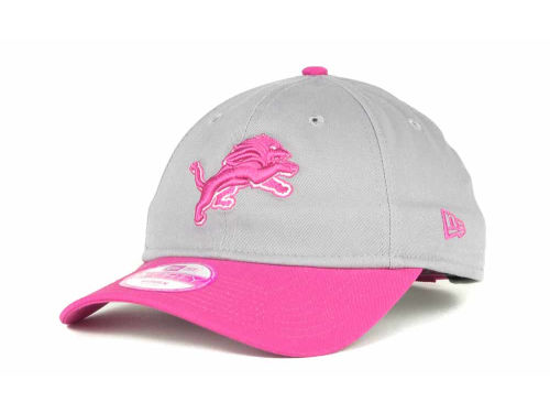 Detroit Lions New Era NFL BCA Womens 9FORTY Cap Hats
