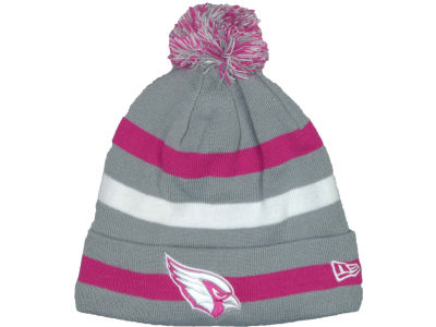Arizona Cardinals NFL Breast Cancer Awareness Knit Cap Hats