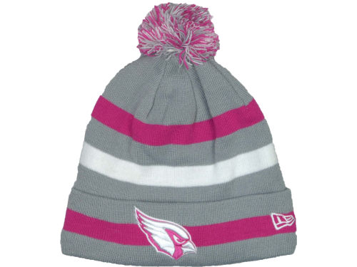 Arizona Cardinals New Era NFL Breast Cancer Awareness Knit Cap Hats