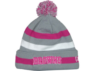 Cleveland Browns NFL Breast Cancer Awareness Knit Cap Hats