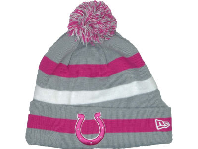 Indianapolis Colts NFL Breast Cancer Awareness Knit Cap Hats