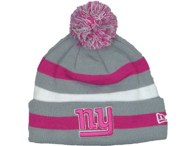 New York Giants NFL Breast Cancer Awareness Knit Cap Hats