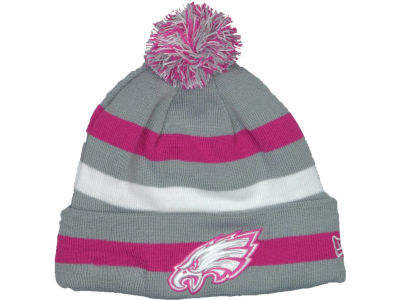 Philadelphia Eagles NFL Breast Cancer Awareness Knit Cap Hats