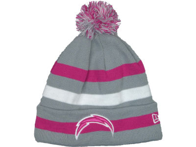 San Diego Chargers NFL Breast Cancer Awareness Knit Cap Hats