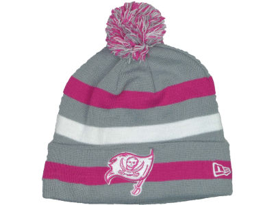 Tampa Bay Buccaneers NFL Breast Cancer Awareness Knit Cap Hats