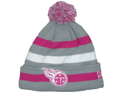 Tennessee Titans NFL Breast Cancer Awareness Knit Cap Hats