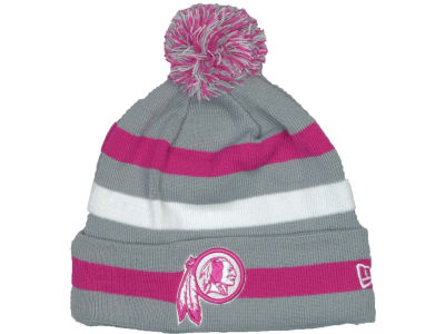 Washington Redskins NFL Breast Cancer Awareness Knit Cap Hats