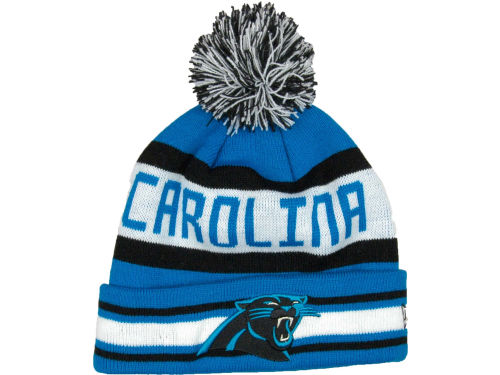 Carolina Panthers New Era NFL Jake Knit Hats