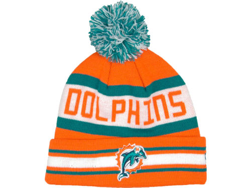 Miami Dolphins New Era NFL 2013 Logo Change Fan Cap Hats